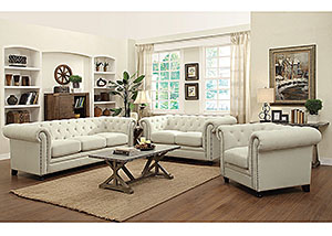Image for Cream Sofa & Loveseat