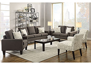 Image for Grey Sofa, Loveseat & Chair