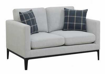 Image for Apperson Light Grey Loveseat