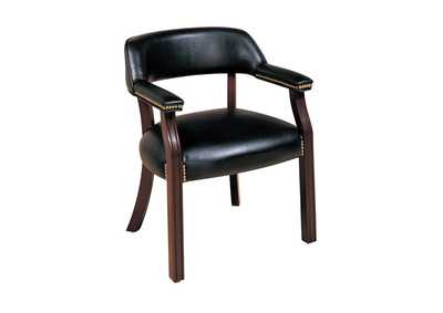 Cinder Traditional Black Office Chair