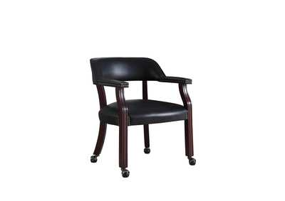 Image for Eerie Black Traditional Black Home Office Chair