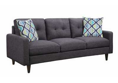 Thunder Watsonville Retro Grey Sofa