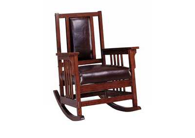 Tobacco Traditional Tobacco Rocking Chair