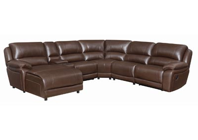 Rock Mackenzie Casual Motion Sectional,Coaster Furniture