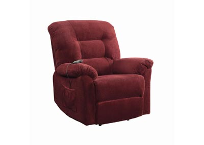 Cedar Brick Red Power Lift Recliner