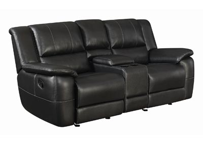 Mine Shaft Lee Transitional Motion Love Seat,Coaster Furniture