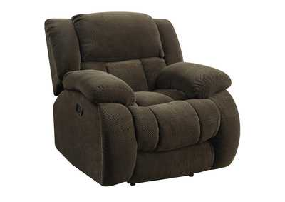 Birch Weissman Brown Glider Recliner,Coaster Furniture