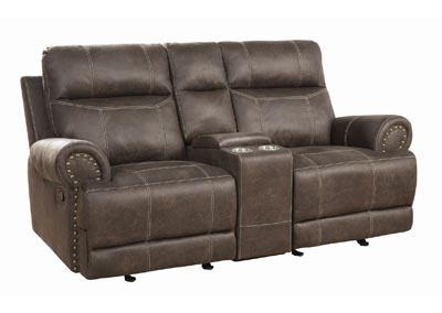 Image for Taupe Glider Loveseat