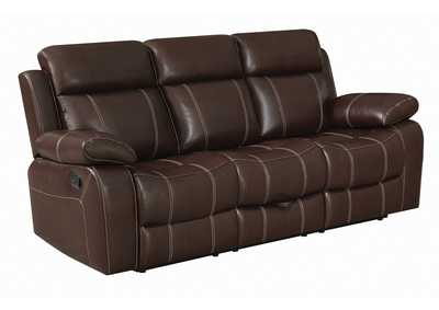 Image for Mondo Myleene Leather Reclining Sofa