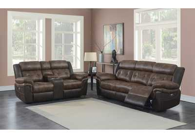 Image for Mist Gray 2 Piece Power Reclining Sofa Set