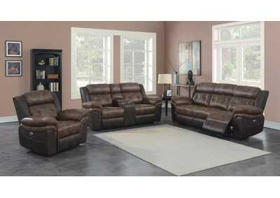 Image for Mist Gray 3 Piece Power Reclining Sofa Set