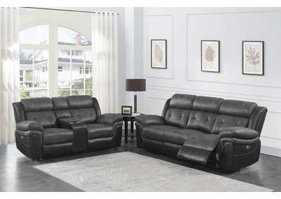 Image for Mercury 2 Piece Power Reclining Sofa Set