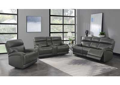 Image for Gray 3 Piece Power Reclining Sofa Set