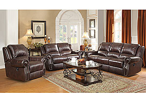 Image for Tobacco Motion Sofa & Loveseat