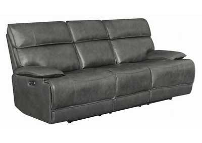 Image for Chicago Standford Casual Charcoal Power2 Sofa