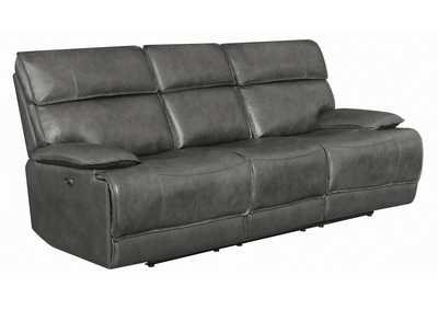 Chicago Standford Casual Charcoal Power Sofa