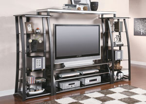 Image for Metal Entertainment Center
