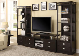 Image for TV Stand w/2 Media Towers