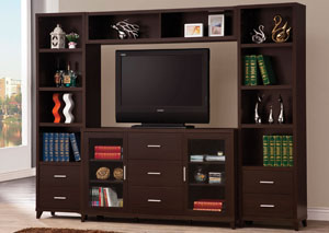 Image for Cappuccino Entertainment Center