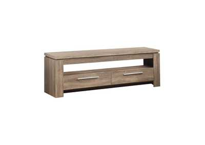 Weathered Brown Transitional Weathered Brown TV Console