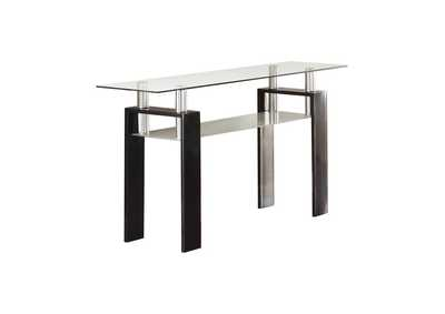 Image for Occasional Contemporary Black Sofa Table