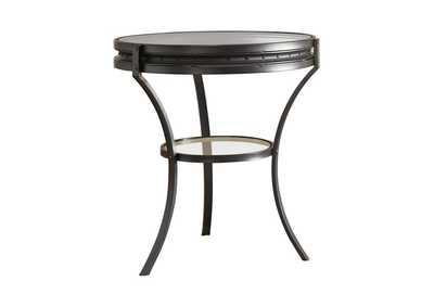 Image for Black Industrial Black Side Table
