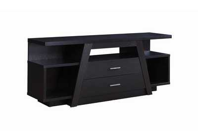 Image for Cod Gray Contemporary Cappuccino TV Stand