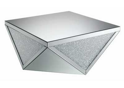 Silver Contemporary Silver Coffee Table