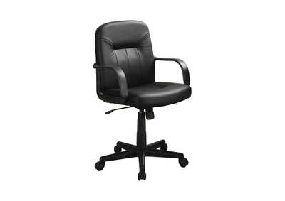 Black Contemporary Black Office Chair