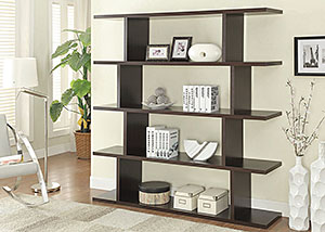 Image for Cappuccino Bookcase
