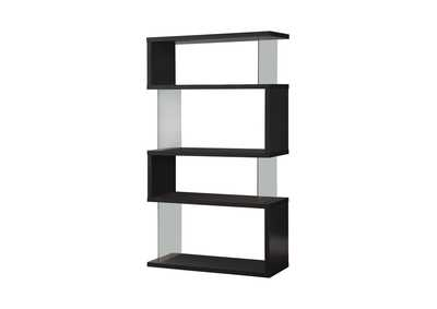 Black Casual Black Bookcase