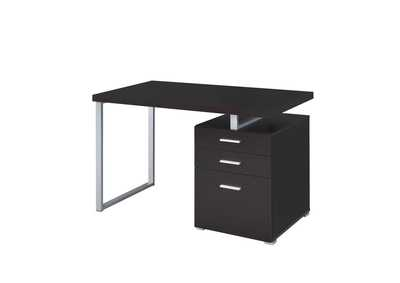 Cappuccino Contemporary Cappuccino Writing Desk