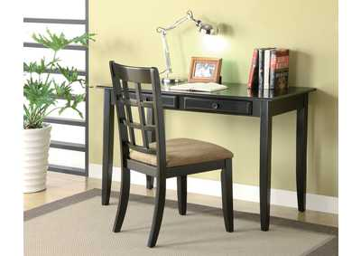 Sidecar Casual Black Desk Set