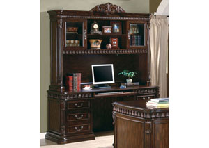 Image for Computer Desk & Hutch