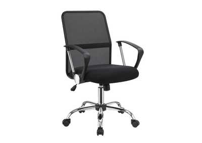 Image for Scarpa Flow Modern Black Mesh Back Office Chair