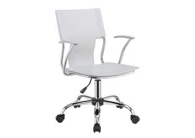 Image for Mischka Contemporary White Office Chair