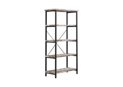 Salvaged Cabin Skelton Industrial Salvaged Cabin Bookcase