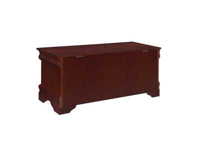 Warm Brown Louis Philippe Traditional Warm Brown Chest,Coaster Furniture