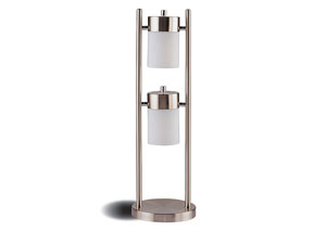 Image for Silver Casual Silver Lamp