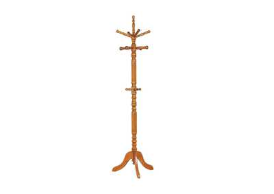 Cultured Pearl Traditional Tobacco Coat Rack