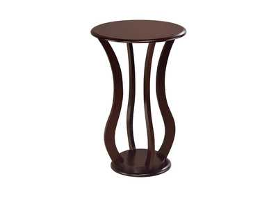 Cherry Transitional Espresso Plant Stand