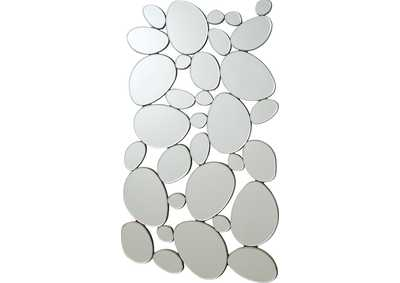 Stone Shape Collage Mirror
