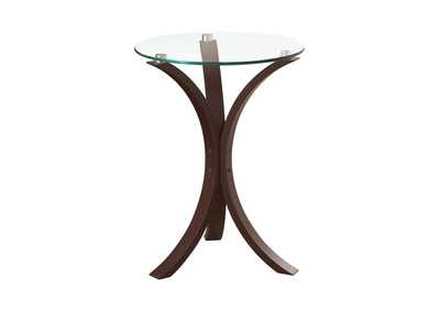 Cappuccino Transitional Cappuccino Accent Table