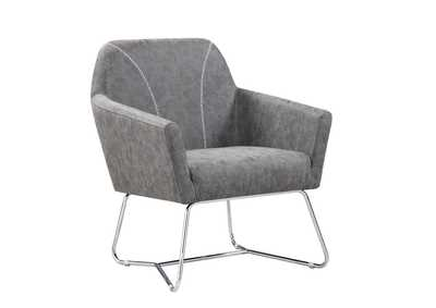Sonic Silver Accent Chair