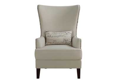 Brown Traditional Cream Accent Chair,Coaster Furniture