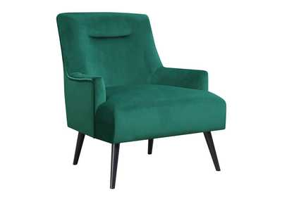 Paradiso Mid-Century Modern Green Accent Chair