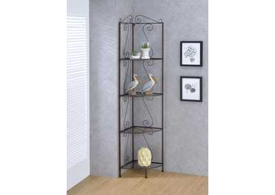Image for Alto Copper Corner Bookcase