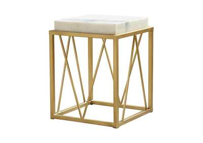 Image for White Accent Table