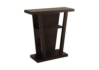 Cappuccino Cappuccino Accent Console Table