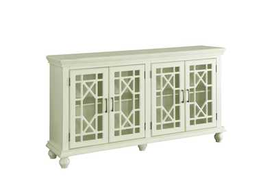 Image for Antique White Traditional Antique White Accent Cabinet